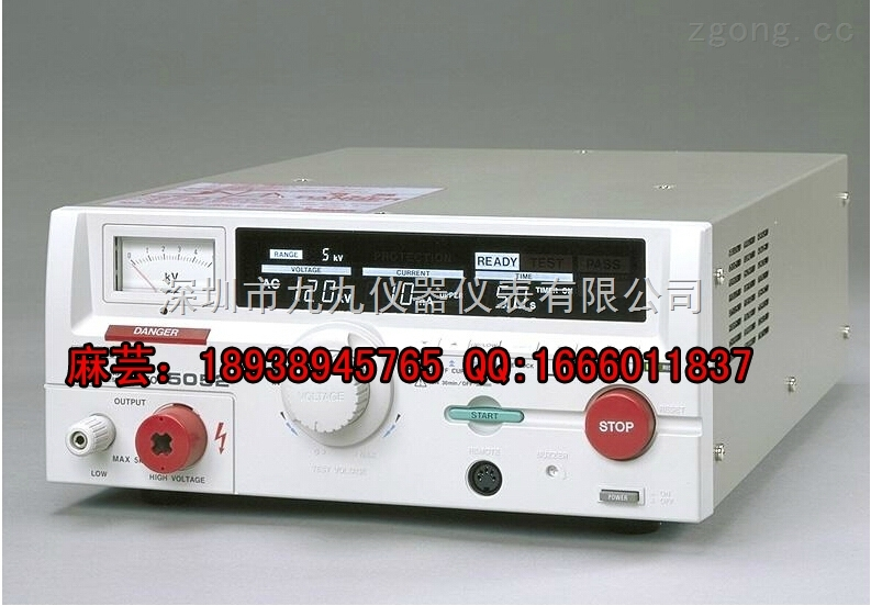 日本菊水tos5052耐压测试仪