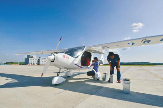 机械网我国首款能源飞机将于明年投入量产